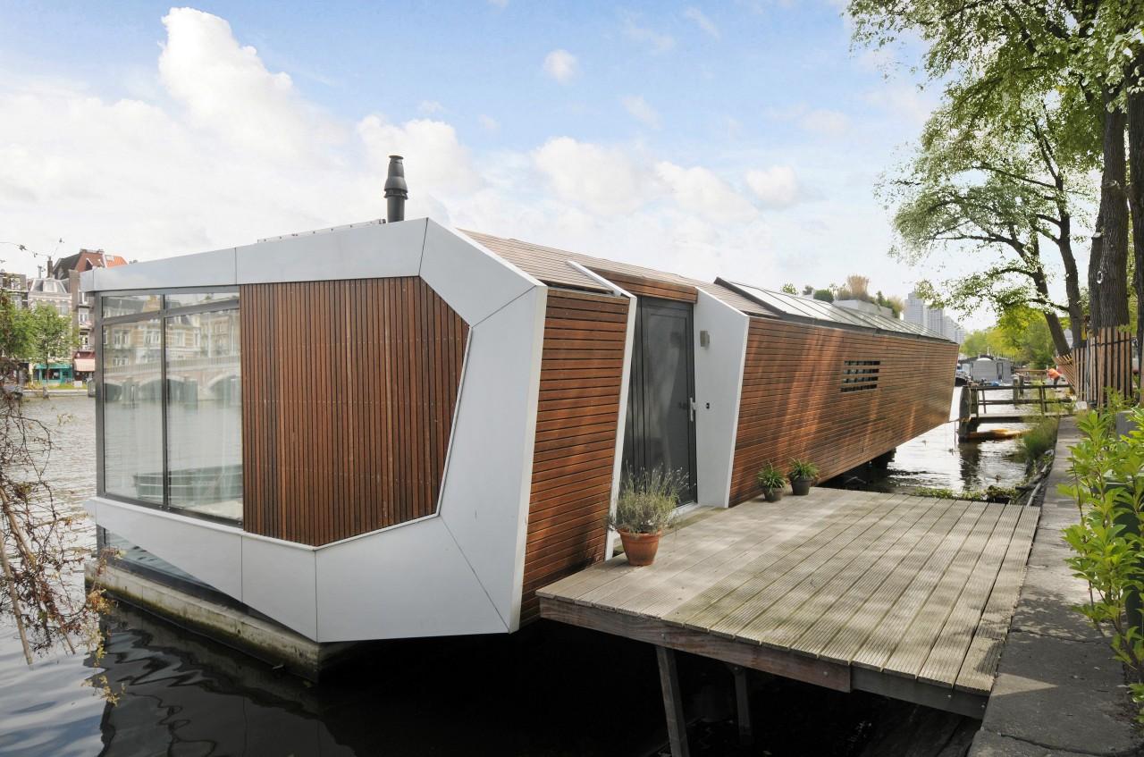 Amsteldijk Woonark MTB architecten Amsterdam Woonboot Waterwoning