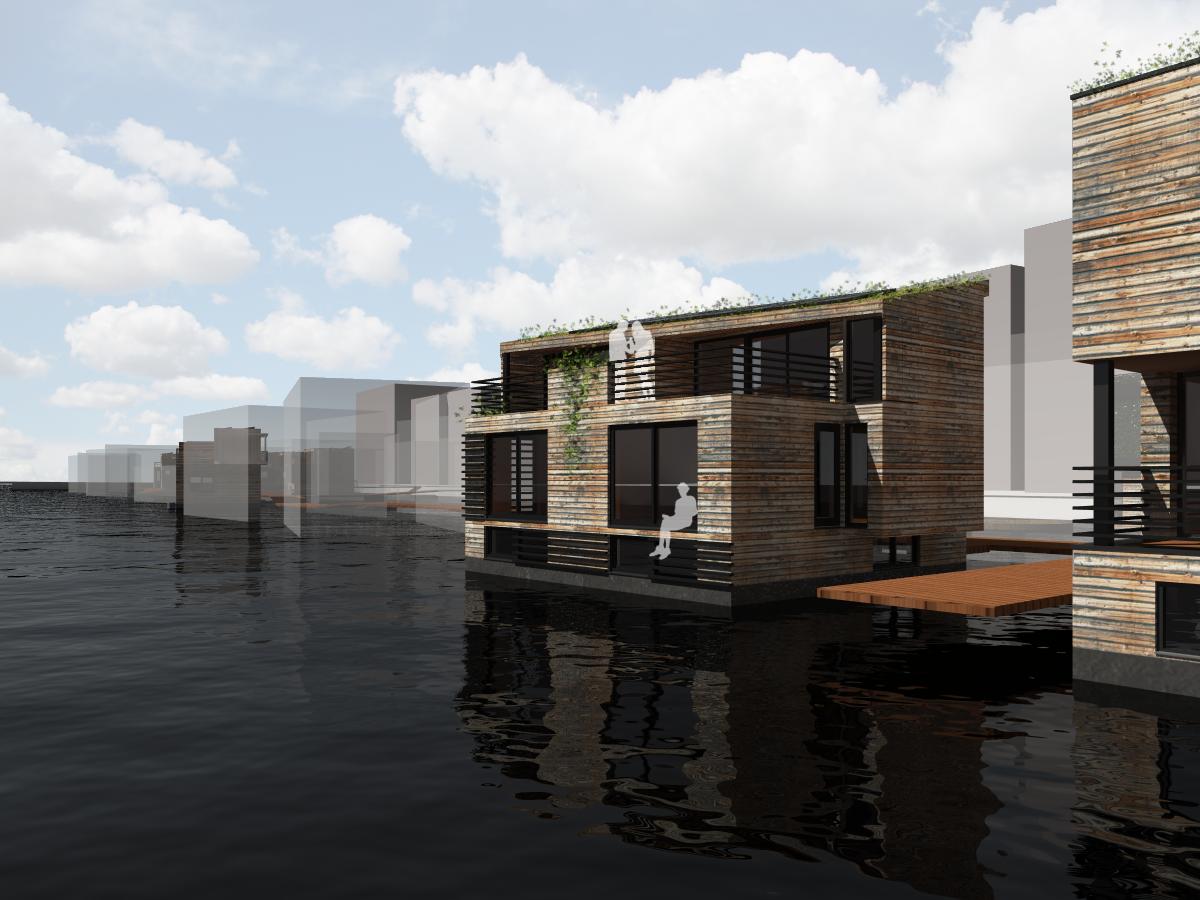 Schoonschip Woonark MTB Architecten Ontwerp Woonboot