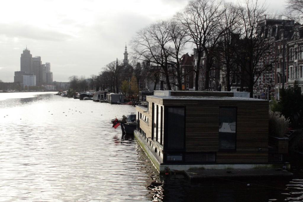 Woonboot 3 Amsteldijk ontwerp door MTB Architecten Woonarken Ontwerp Advies